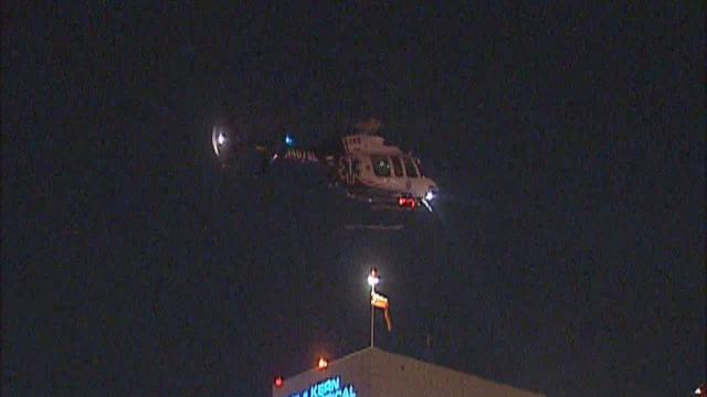 Sheriff's Deputy Airlifted to KMC