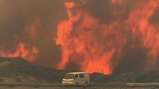 Total fire bans across states
