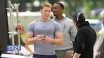 'Captain America' Shows Off Buff Biceps
