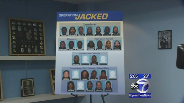 Major carjacking ring busted in New Jersey