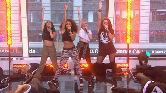 Little Mix Rocks Times Square with 'DNA'