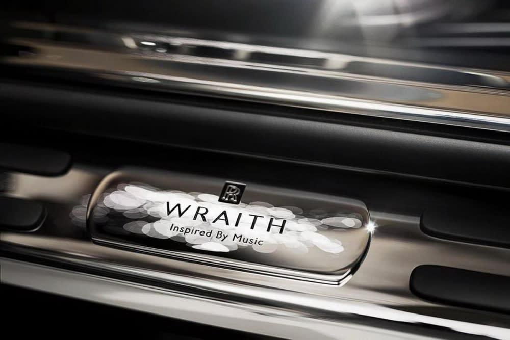「行動劇院,僅此一輛的尊榮享受!」Rolls-Royce推出Wraith Inspired by Music客製化作品