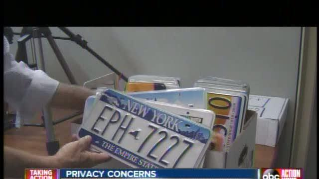 Local company creates high-tech license plate scanners