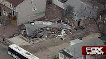 Aerial tour reveals scope of Sandy's impact