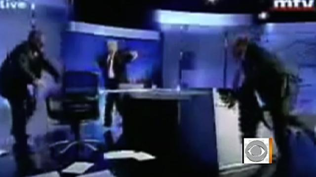 TV political debate gets out-of-hand