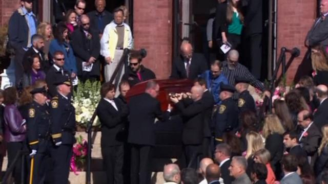 Funeral for slain Massachusetts High School teacher