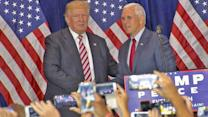 Donald Trump, Mike Pence Hit the Campaign Trail