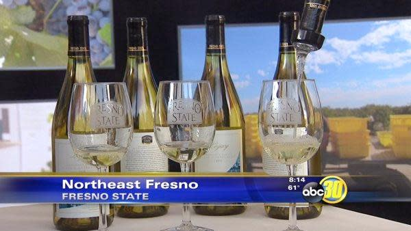 Fresno State names wine after president Welty