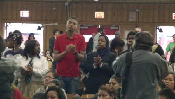 Students, parents speak at Phila. school meeting