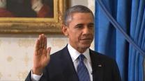 President Obama sworn in for second term