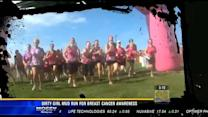 """Dirty Girl Mud Run"" for breast cancer awareness"