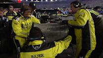 Multi-car crash collects point contenders