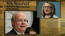 Democrats push back after Rove suggests Clinton may have brain damage