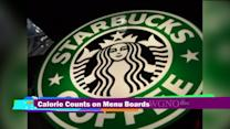 Starbucks to post calorie counts on their menus