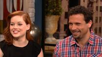 Jeremy Sisto And Jane Levy Talk Malin Akerman Bringing Drama To 'Suburgatory'