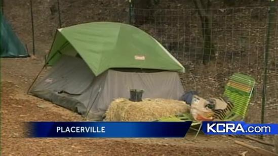 Placerville's legal homeless camp hopes to survive