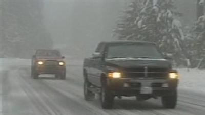 Hwy 88 Sees Whiteout Conditions