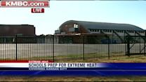 Schools struggle to keep buildings cool