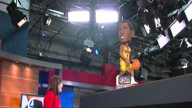 5am: Kyrie Irving Bobblehead Night