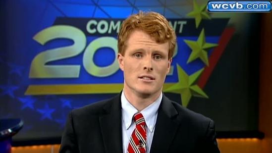 Final Pitch: Joe Kennedy, candiate for U.S House of Rep.