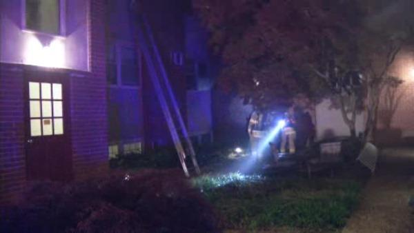 Resident jumps from window to escape Wilmington apartment fire