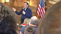 Protesters Removed From Ted Cruz Event After Shouting About Demonic Possession