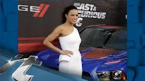 Red Carpet News Pop: Michelle Rodriguez Gets HIGH With Fans At Fast & Furious 6 Premiere!!