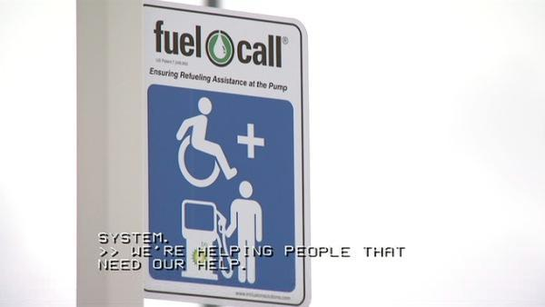 Fuel call helps people with disabilities get gas