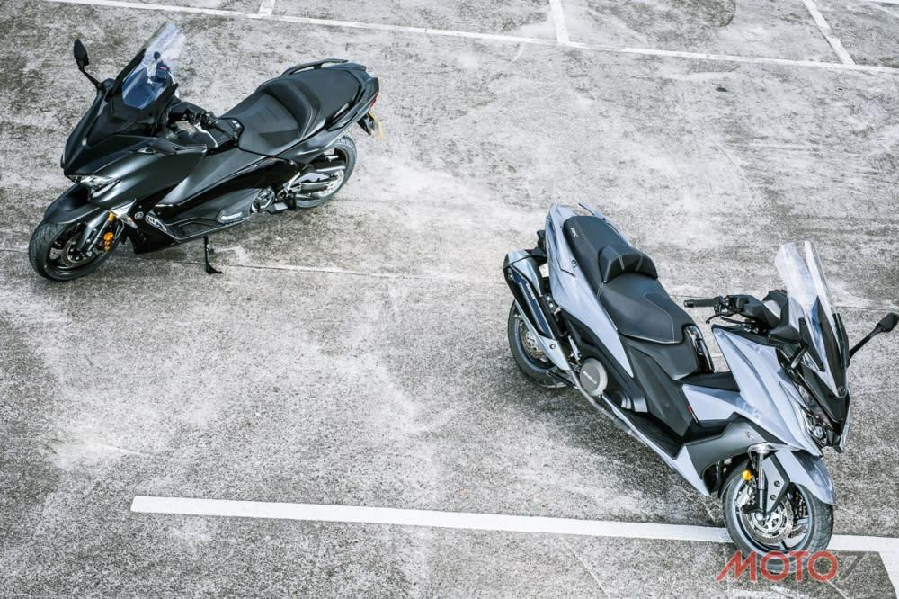 從車輛的騎乘特性切入,AK550與TMAX恰巧滿足兩大不同的使用者族群。