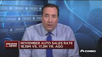 18.19 million autos sold in November