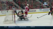 Franzen gets PPG off the dish from Alfredsson
