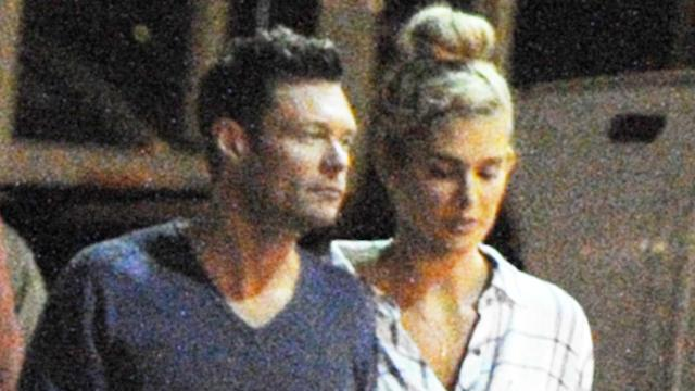 Ryan Seacrest and Shayna Taylor on Vacation in Europe