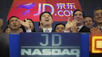 JC Penney's Big Beat, JD.com Earnings, Jim Cramer Swipes Amex