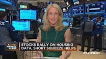 Stocks rally on housing data