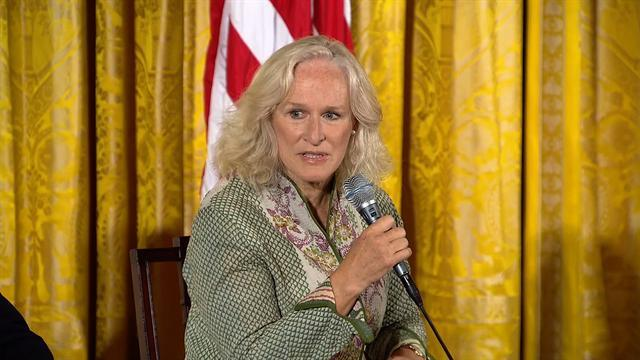 Glenn Close among attendees at W.H. mental health conference