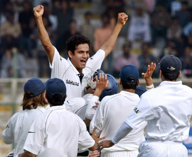 Irfan Pathan is the only bowler to have taken a hat-trick in the opening over of a Test match
