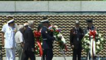 D-Day Veterans Honored at DC WWII Memorial