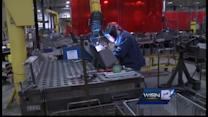 High school students learn about manufacturing jobs