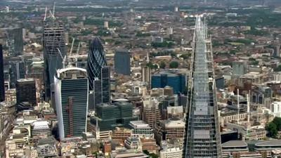 Raw: Protestors Scale London's Tallest Building
