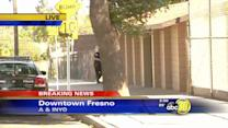 Shootout between rival groups in Downtown Fresno