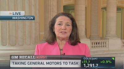 Rep. DeGette: GM knew ignition switches were substandard