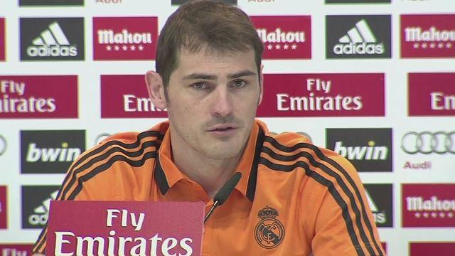 Casillas: Late Aragonés' story about cow and train