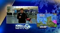 KCI Airport closed because of storm