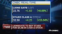 Lionsgate to buy Starz in $4.4B deal