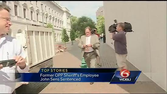 Former Orleans Parish Sheriff's Office employee sentenced for bribery