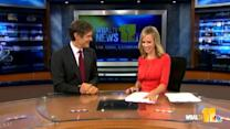 Dr. Oz stops by 11 News studio