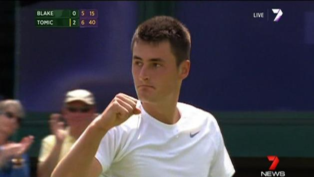 Tomic, Stosur win second round at Wimbledon