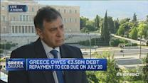 Fears of a 'business run' on Greece