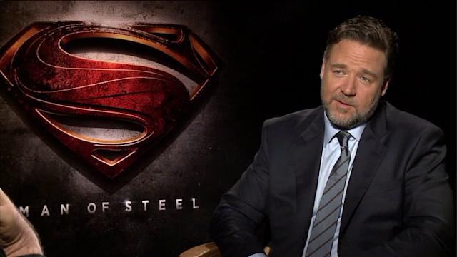 Russell Crowe on Being a Lego Character for His Kids