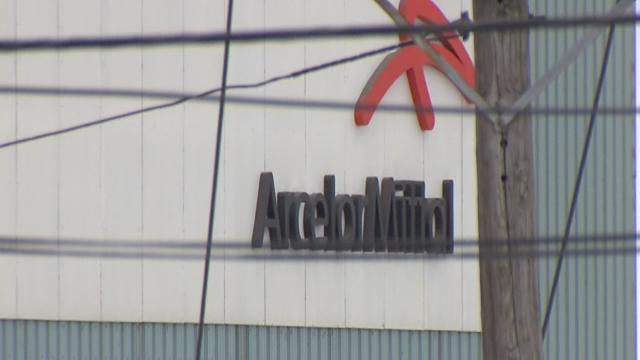 Why is the President visiting ArcelorMittal?